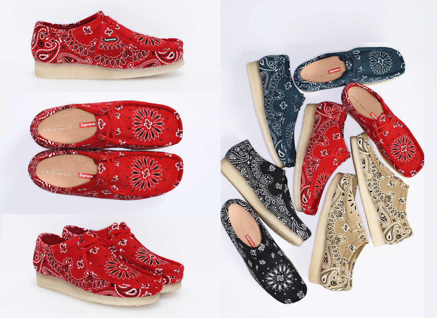 Clarks Originals® bandana Wallabee®