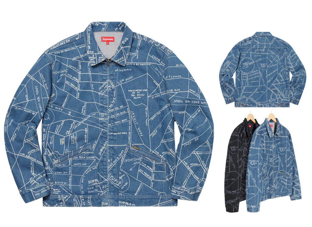 Gonz Map Work Jacket