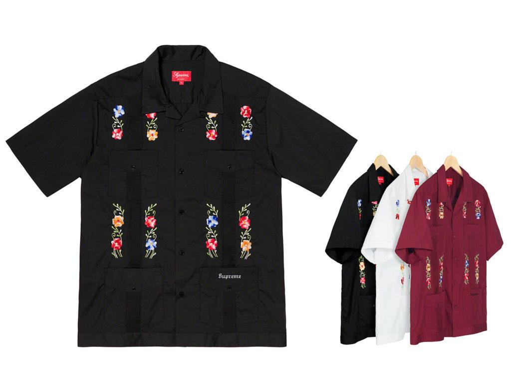 Flowers Guayabera S/S Shirt