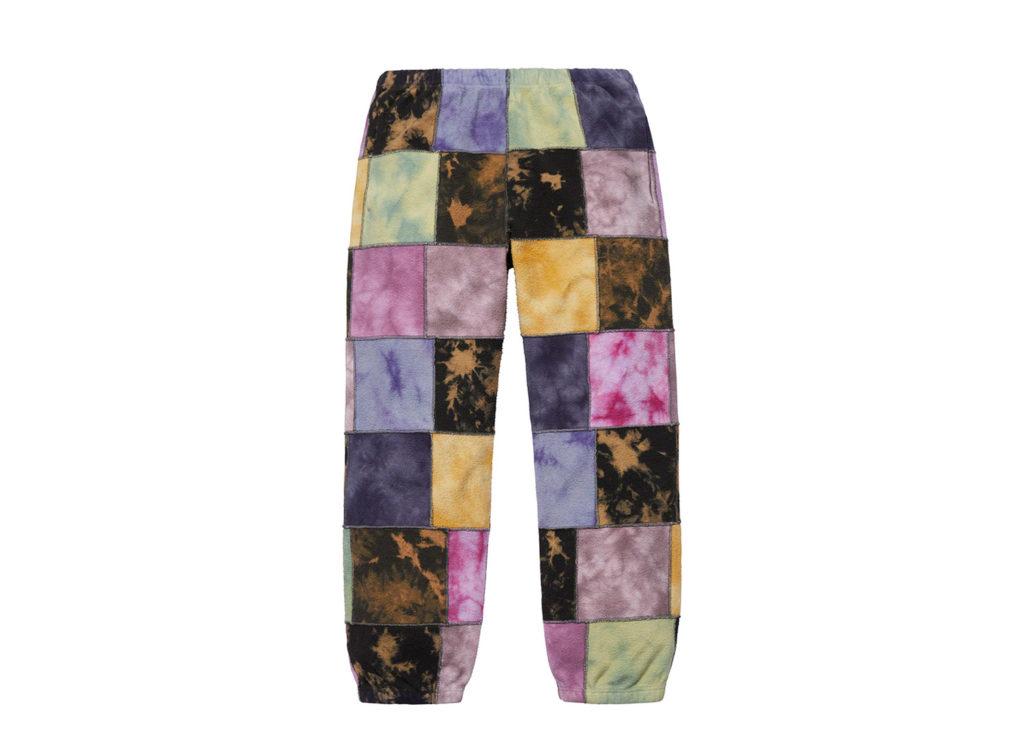 Patchwork Tie Dye Sweatpant