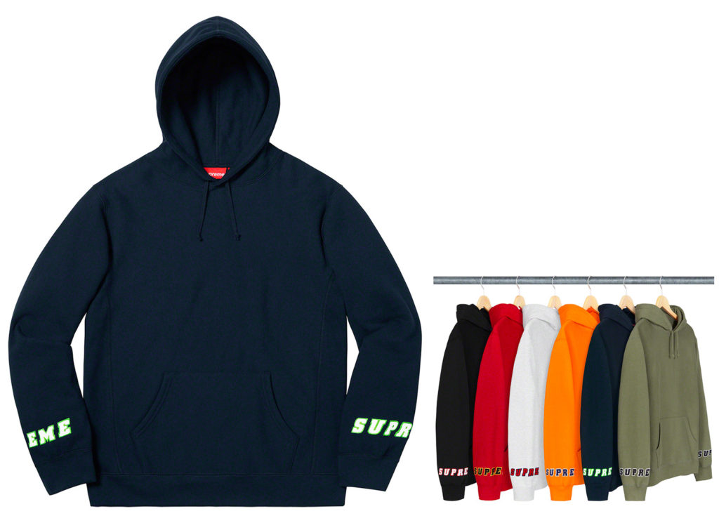 Wrist Logo Hooded Sweatshirt