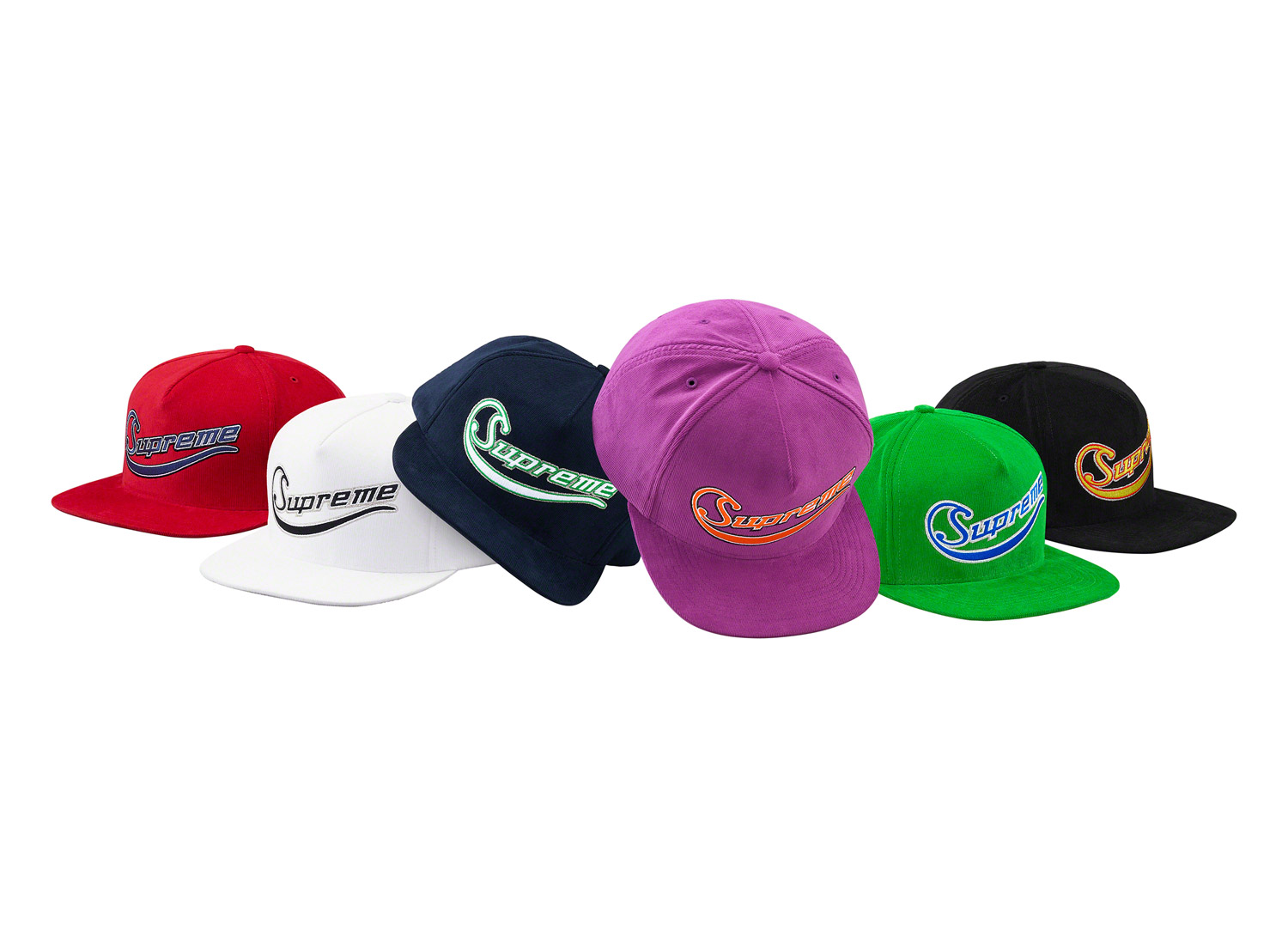 Metallic Logo Corduroy 5-Panel