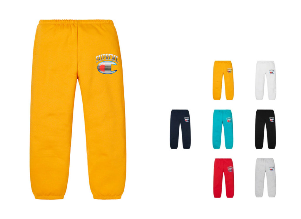 Supreme®/Champion® Chrome Sweatpant