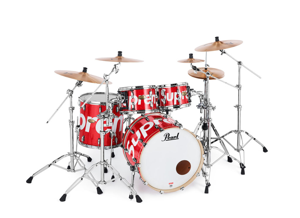 Supreme®/Pearl® Session Studio Select Drum Set & Zildjian® Cymbals