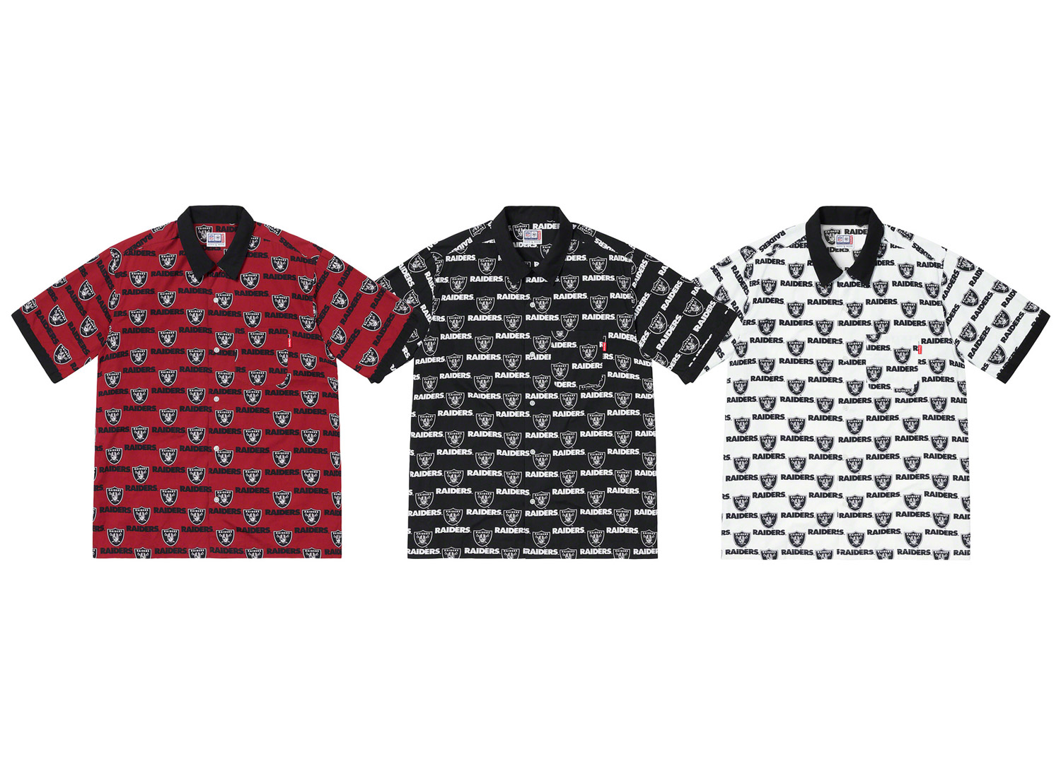 Supreme®/NFL/Raiders/47 S/S Shirt