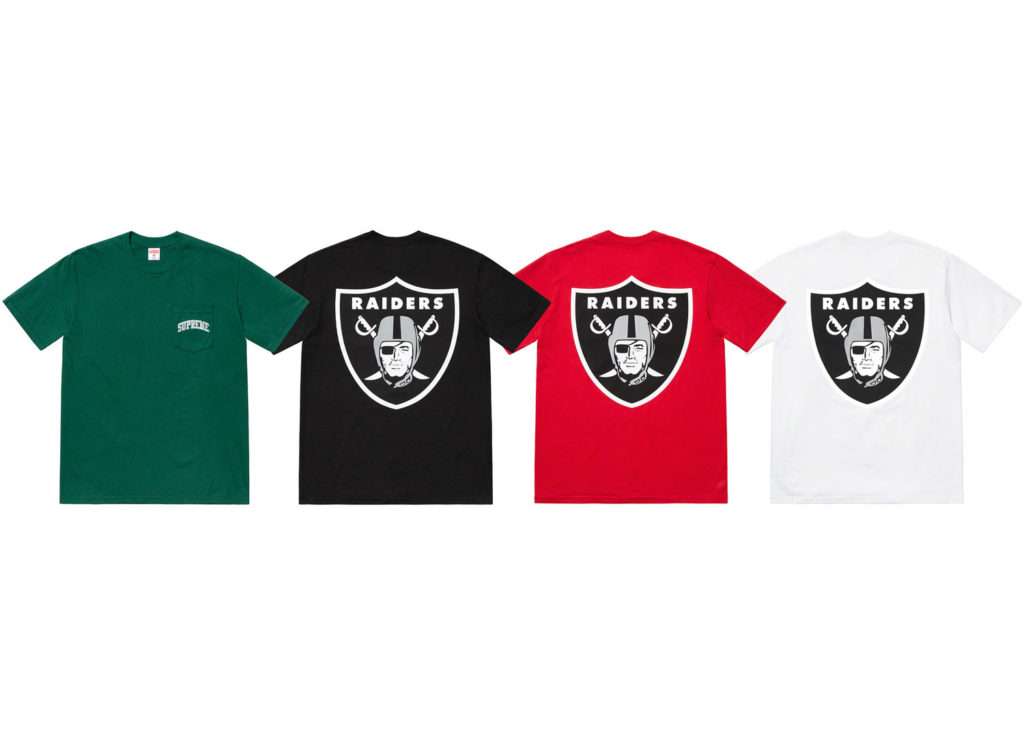 Supreme®/NFL/Raiders/47 T-Shirt