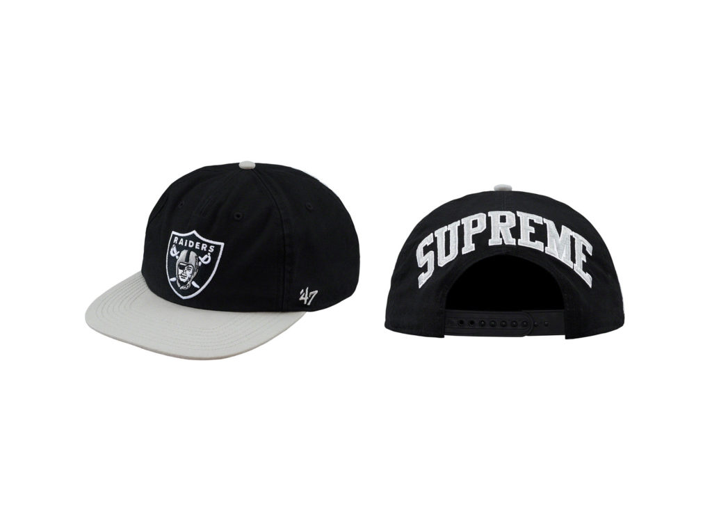Supreme®/NFL/Raiders/47 5-Panel Hat