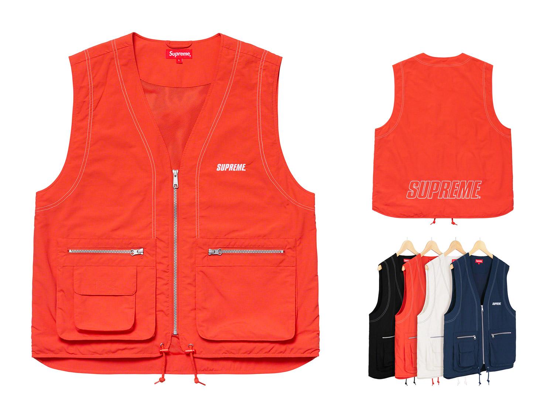 Nylon Cargo Vest