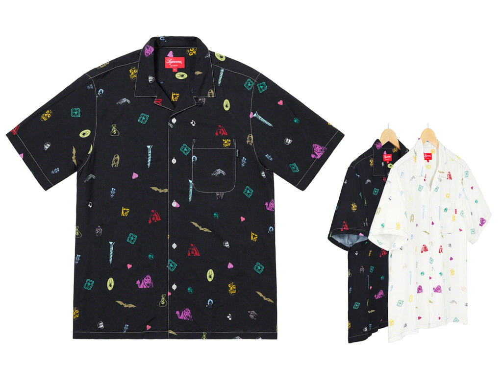 Deep Space Rayon S/S Shirt