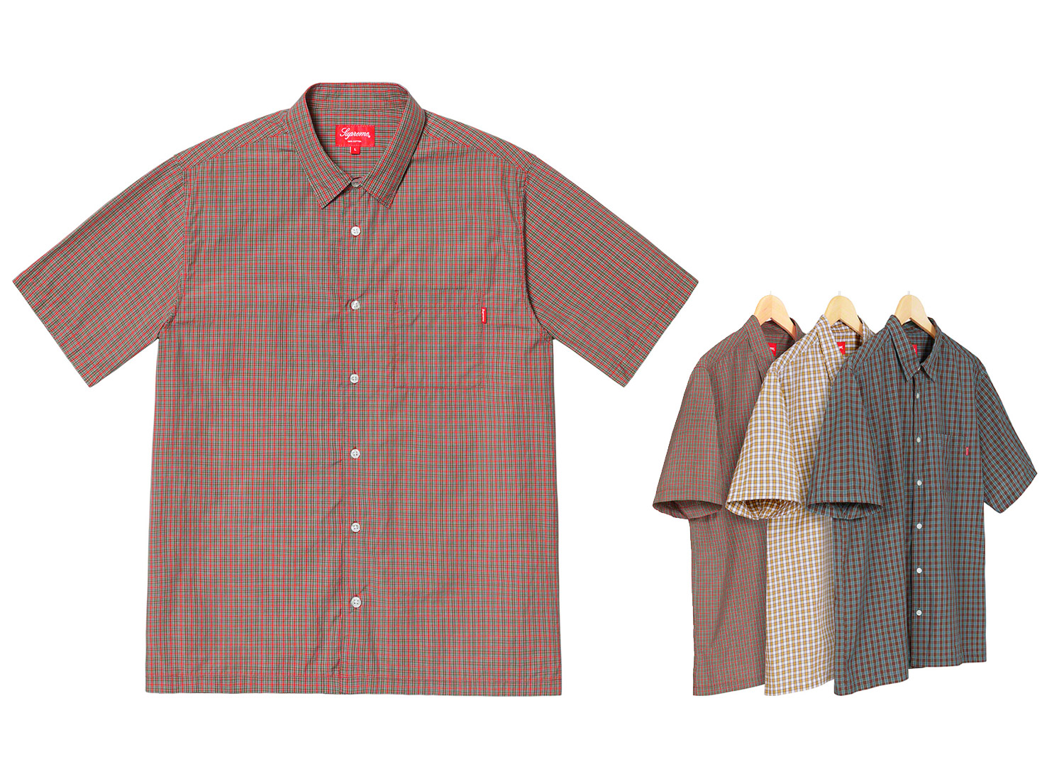 Plaid S/S Shirt
