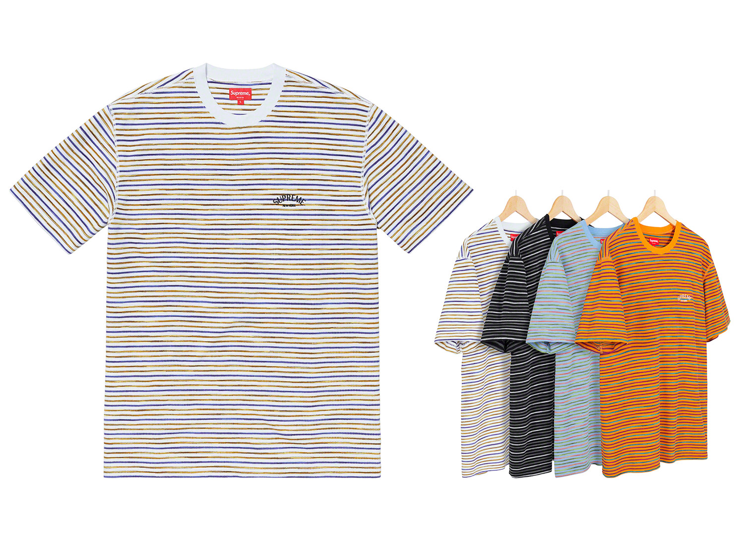 Stripe Thermal S/S Top