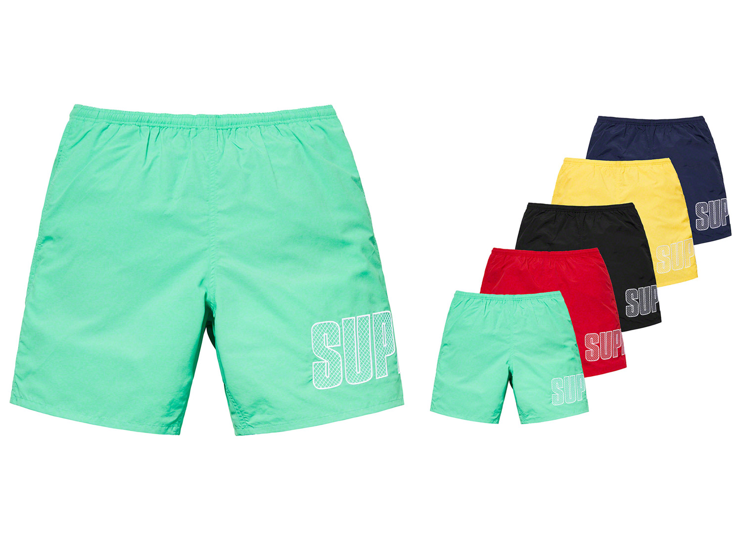 Logo Appliqué Water Short