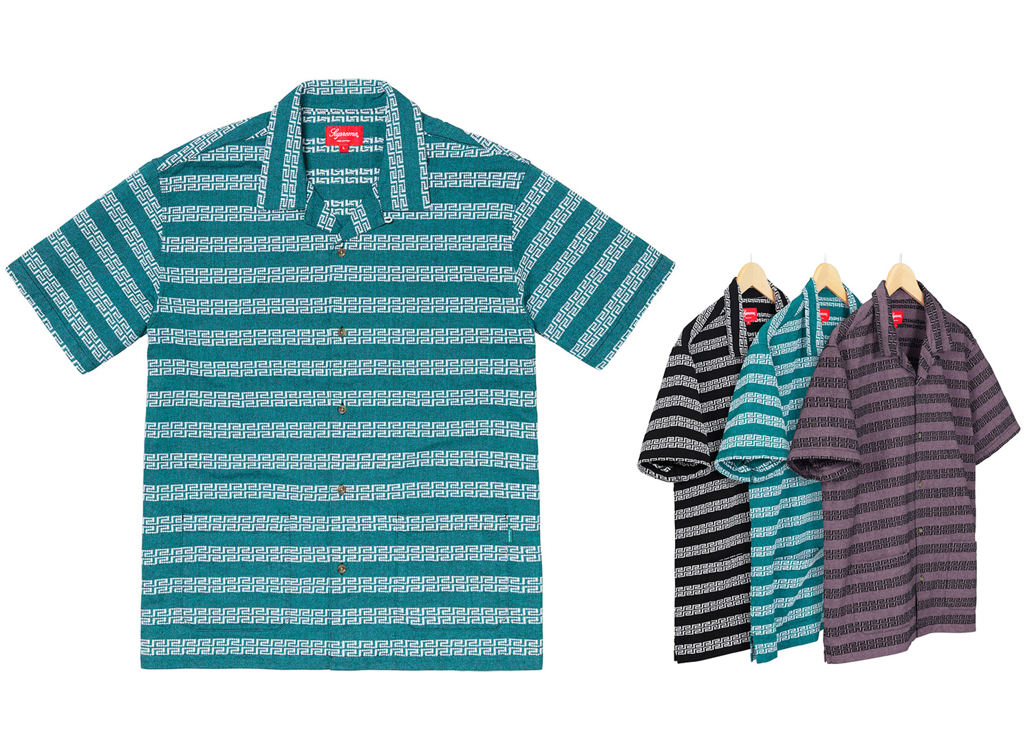 Key Stripe S/S Shirt