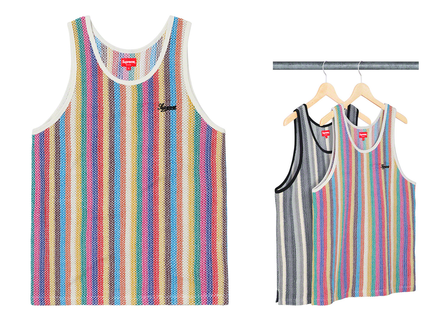 Knit Stripe Tank Top